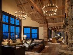 Big Sky Ranch, Montana Reclaimed Lumber Co. Photo by Benjamin Benschneider Photography