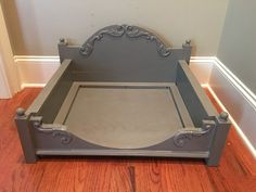 Custom Wood Pet Bed Dog Bed Cat Bed by SimplyJeanna on Etsy