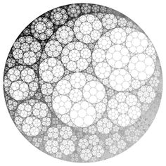 To me that brings up in my mind recursive fractal images like the ...