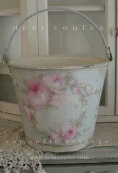 Debi Coules Shabby French Chic Art