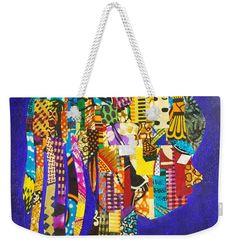 Imani Weekender Tote  Artwork by Apanaki Temitayo M  Shop Apanaki Designs IG