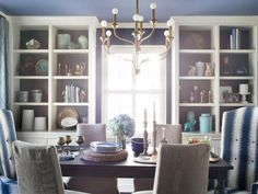 The experts at HGTV.com share design and decorating ideas for a formal yet cozy dining room fit for year-round entertaining.