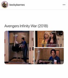 Yes, Avengers and iCarly combined??