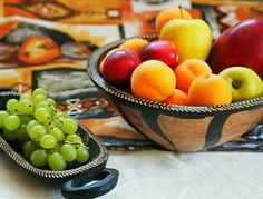 South African handmade fruit bowls. Find us on Etsy: https://www.etsy.com/uk/shop/BeautifulAfrican
