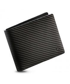 e139efdb33 Genuine Leather Mens RFID Carbon ID Wallet Slim Credit Card Holder  Minimalist - 9cc Trifold - CM1887SY2ZQ