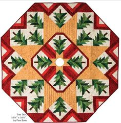 ideas for patchwork navidad ideas christmas tree skirts Xmas Tree Skirts, Christmas Tree Skirts Patterns, 3d Quilts, Patchwork Quilt Patterns, Quilting Patterns, Quilting Ideas, Crochet Patterns, Mini Quilts, Christmas Patchwork
