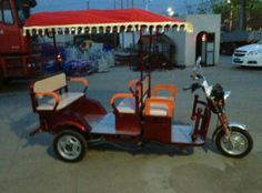 Electric tricycle Electric Tricycles Electric Tricycle, Electric Car, Cap Ideas, Vespa Scooters, Golf Carts, Campers, Wheels, Industrial, Bike