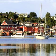 Halifax, Nova Scotia - I have been here when traveling with family when I was a kid...picturesque - all of the little homes were painted different colors - rocky shoreline beautiful too! Little churches with steeples.   Fishing Villages - can see fisherman at work wtith their catch.  Amazing fresh lobsters - yum!