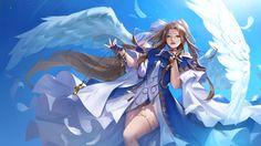 ArtStation - For Belldandy, Kana Kana Ah My Goddess, Light Novel, Novels, Princess Zelda, Angel, Illustration, Artwork, Fictional Characters, Image