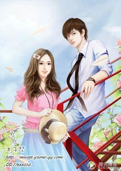 Cute Couple Cartoon, Cute Couple Art, Cute Cartoon Girl, Cute Love Cartoons, Anime Love Couple, Cartoon Pics, Cute Love Wallpapers, Cute Cartoon Wallpapers, Romantic Anime Couples