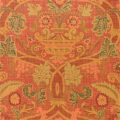Thibaut wallpaper Pattern FORTRESS Wallpaper Collection Repertoire Colorway Red Construction Wallpaper Width cm) Repeat V Love Wallpaper, Pattern Wallpaper, Wallpaper Ideas, Construction Wallpaper, Old Money, Georgian Homes, Fabric Patterns, Terracotta, Damask