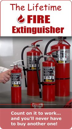 The last fire extinguisher you'll ever buy. Don't buy before you watch this video! It's important for your family and your home.
