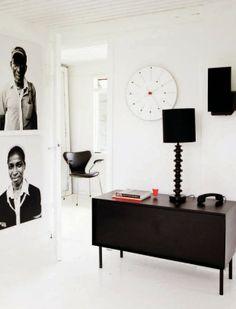 The home of a fashion designer