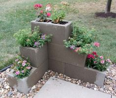 Cement Block Planter – DECOREDO
