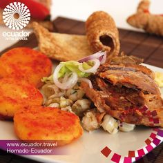 Ecuador es un país megadiverso. Aquí  un exquisito plato de la gastronomía ecuatoriana.  www.ecuador.travel. #Ecuador #tourism #travel