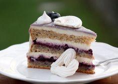 Čučoriedková drip torta Vanilla Cake, Tiramisu, Cheesecake, Food And Drink, Low Carb, Gluten Free, Fruit, Ethnic Recipes, Desserts