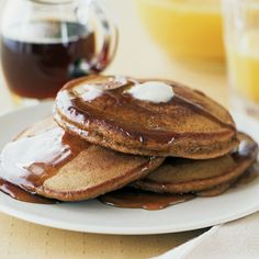 Make this gingerbread pancake recipe, and the aroma of gingerbread spices will lure everyone to the kitchen when you're making them.