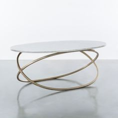 Chantal Coffee Table Shine by S.O, Discover home design ideas, furniture, browse photos and plan projects at HG Design Ideas - connecting homeowners with the latest trends in home design & remodeling Unique Coffee Table, Coffe Table, Coffee Table Design, Modern Coffee Tables, Metal Furniture, Table Furniture, Furniture Design, Brass Console Table, Tableau Design