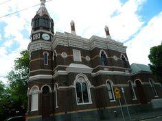 Flemington Post Office 1889 (HO121, VHR H1201) Melbourne Victoria, Victorian Architecture, Post Office, Barcelona Cathedral, Big Ben, Jr, Empire, British, Australia
