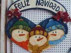 Resultado de imagen para ideas en mdf para diciembre Christmas Wood Crafts, Snowman Crafts, Christmas Door, Christmas Signs, Christmas Snowman, All Things Christmas, Christmas Wreaths, Christmas Ornaments, Snowmen Pictures