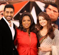 Oprah expresses desire to meet Aishwarya and Abhishek; coming to India