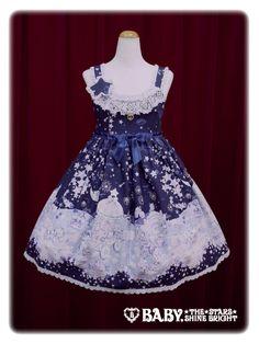 Baby, the stars shine bright Stardust Fantasia~Holoscope of twins star kittens~jumper skirt Ⅱ