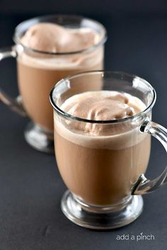 Mocha Punch - Delicious served hot or cold! The perfect punch for all sorts of special occasions or when entertaining.