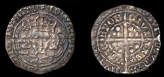 Edward IV, Light Cross and Pellets coinage, Groat, Waterford, mm. rosette, g on breast, no marks by neck, saltire in two quarters of rev., 1.84g/6h (S 6349; DF 134). Good very fine for issue, lightly toned
