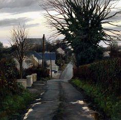 December Evening by Eugene Conway Painting Gallery, Art Gallery, Damien Hirst, Irish Art, International Artist, Banksy, Northern Ireland, Contemporary Paintings, Traditional Art