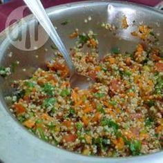 Salada de quinoa @ allrecipes.com.br