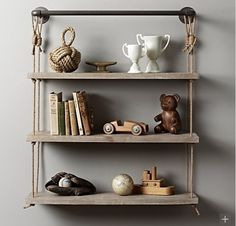 Shelving for their favorite toys #kidsroom