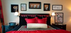 Mickey Mouse Penthouse Suite master bedroom