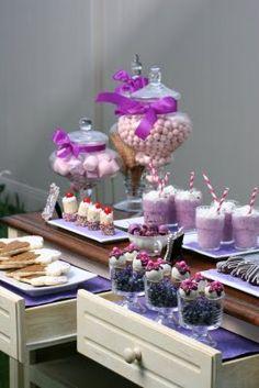 Purple Ice Cream Social