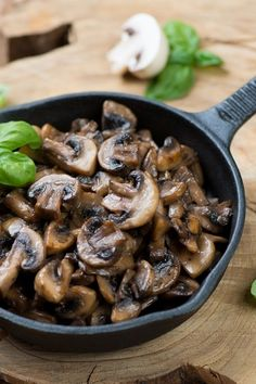 Amazing Sauteed Mushrooms Recipe