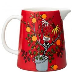 Arabia Moomin Pitcher Little My's Day, 1L