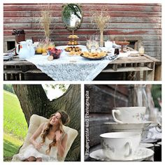 Behind The Red Barn Door: bridal shower