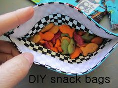 Hey friends!  It's Leslie, back with another super easy tutorial PERFECT for the summer! (and fall… possibly winter and spring, too)  Reusable sandwich/snack bags are the perfect solution to so many wasted plastic baggies.  My kids  use the plastic ones once and throw them away.  What a waste!  These little babies are washable so you [Read More]