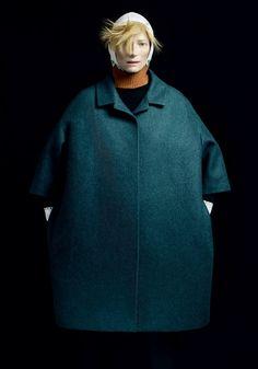 Winter coat. Utilitarian. Forget princess seams, jokers.