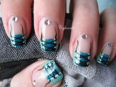 Nail art Lace design