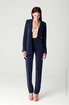 S/S13 Jumpsuit Photographer: Richie Crossley  Model: Jade Louise Rodgers MUA: Jenna Kelly Assistant: Lotte Hansen