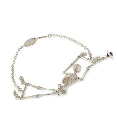 Skeleton Bracelet by Vivienne Westwood