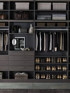 Design an organized oasis that fits your exact style and needs - only with TCS Closets.