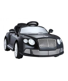 Look at this Black Bentley Continental GT 12-V Ride-on on #zulily today!