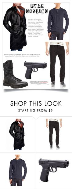 """""""Ryan Gosling Blade Runner"""" by hjackets ❤ liked on Polyvore featuring Hanes and 5.11 Tactical"""