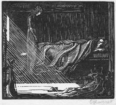 018. Margaret's Ghost (1909) 91 x 104, state 2, edition of 30, illustration to a…