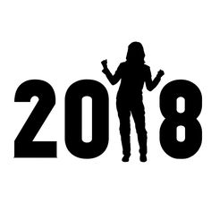 #2018 #announcement #aspirations #celebration #day #determination #dreamlike #event #females #free illustrations #free images #free vector graphics #happiness #holiday event #improvement #joy #lifestyle #new year,