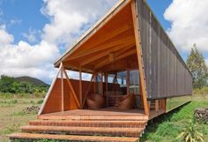Modern Morerava Eco Cabins Sit Lightly on Easter Island.