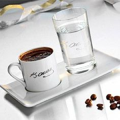 Turkish coffee with his signature! But First Coffee, I Love Coffee, My Coffee, Coffee Beans, Coffee Shop, Drink Coffee, Craving Coffee, Turkish Coffee Cups, Coffee Dessert