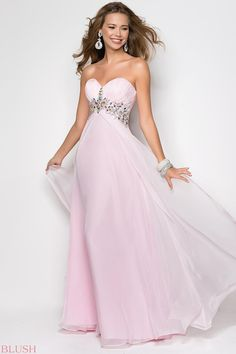 Blush Prom Dresses and Evening Gowns Blush Style 9545