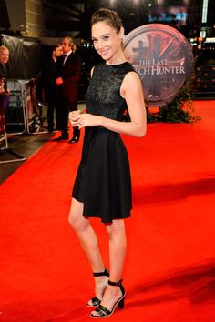 Where: The London premiere of The Last Witch Hunter Wearing: A short black dress with sandals